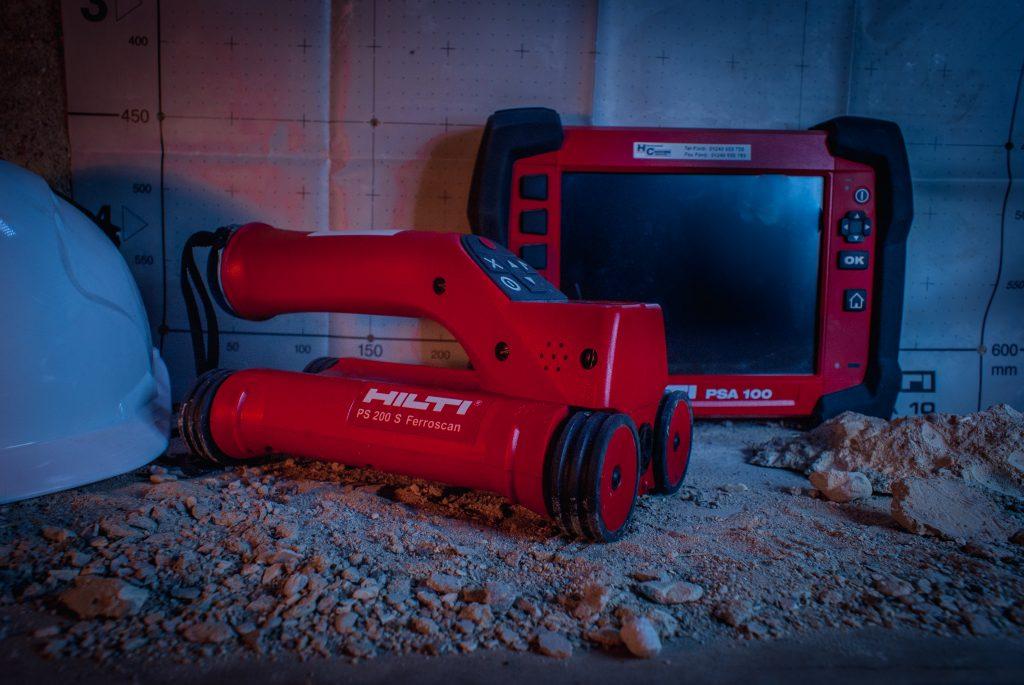 Hilti ps200 Ferroscan hire PS250 1