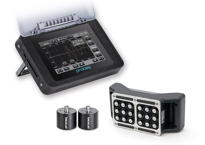 Ultrasonic pulse velocity tester 2
