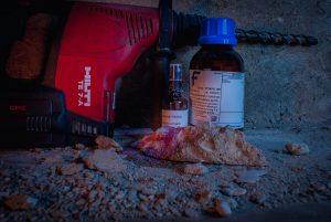 Concrete Carbonation Testing 2