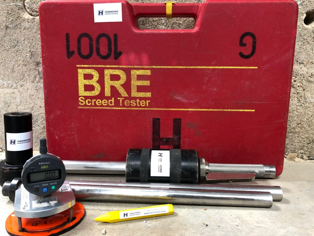 BRE Screed Test Kit 3